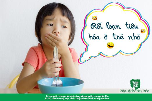 Rối loạn tiêu hóa ở trẻ bố mẹ cần chú ý