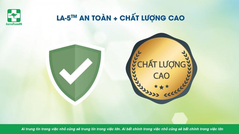 MEN VI SINH THUẦN CHỦNG LA-5TM